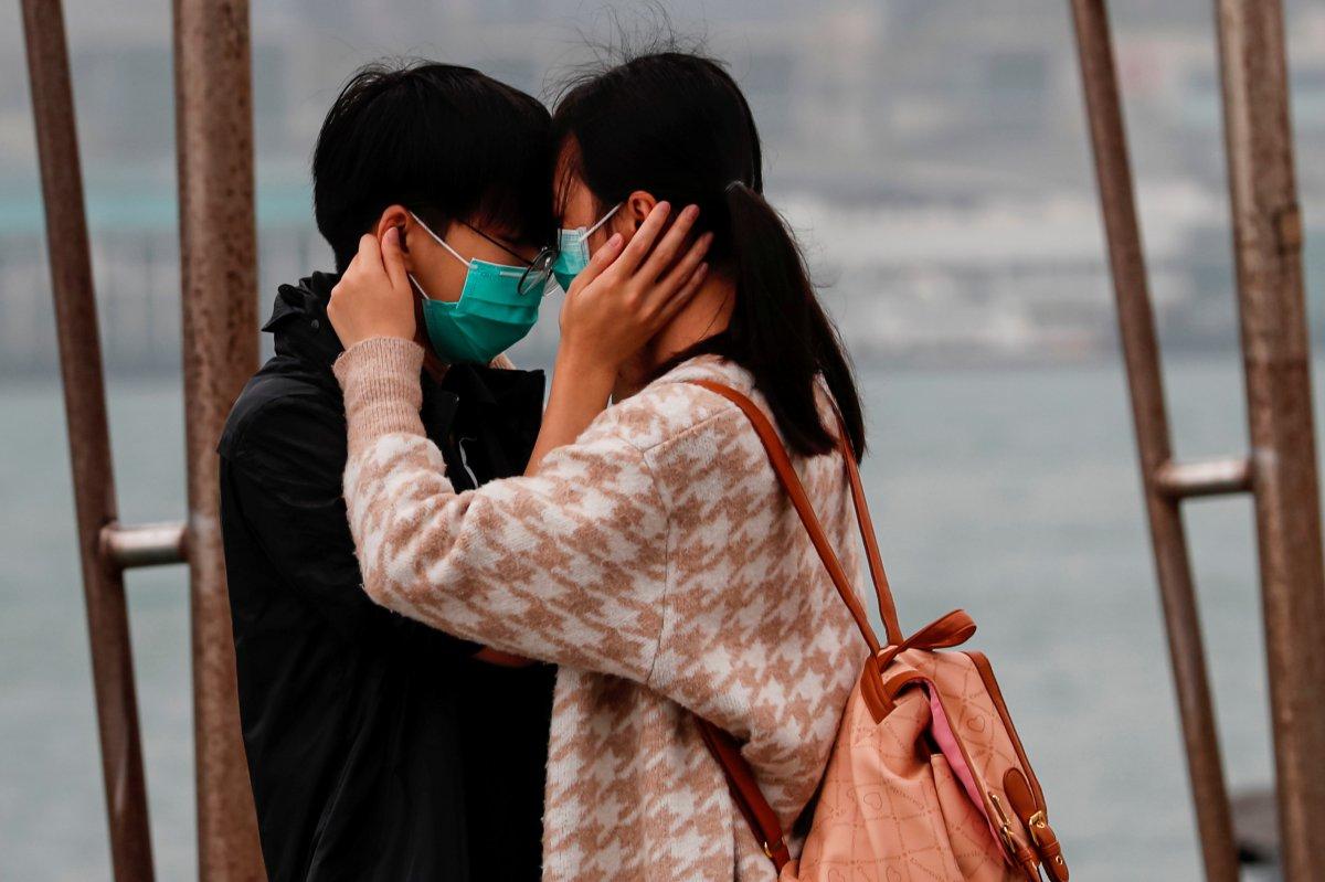 Koronavirüs Çin'de 14 Şubat'ı da etkiledi