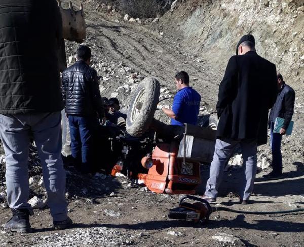 Kullandığıtraktörün altında kalan16 yaşındaki Ahmet öldü -4