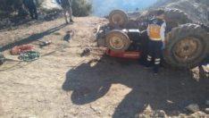 Kullandığıtraktörün altında kalançocuk öldü