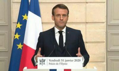 Macron: İngiltere'nin AB'den ayrılması bir şok