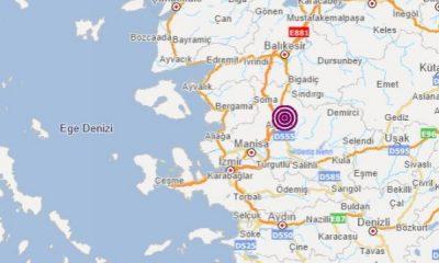 Manisa'da 4.8 şiddetinde deprem