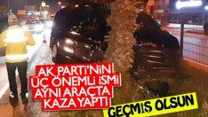 Mehmet Özhaseki trafik kazasında yaralandı