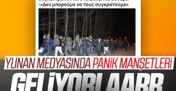 Mülteci akınının başlaması Yunanistan'ı paniğe soktu