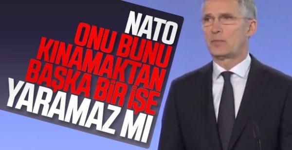 NATO, Rusya ve Esad'ı kınadı