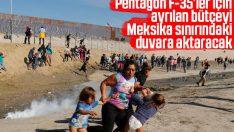Pentagon 3.8 milyar dolar fonu Meksika duvarına aktaracak