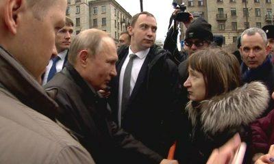 Putin'e vatandaşından emekli maaşı sorusu