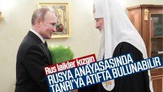 Rusya, anayasasında Tanrı'ya atıfta bulunabilir