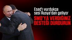 Rusya: SMO destek vermeyi durdurun