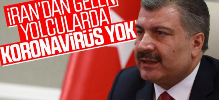 Sağlık Bakanı Koca: Türkiye'de koronavirüse rastlanmadı