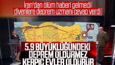 Şükrü Ersoy: Bu büyüklükteki deprem öldürmez
