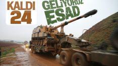 Suriye sınırına askeri sevkiyat hız kazandı