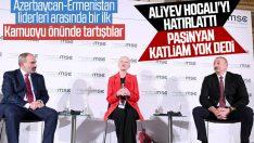 Tarihte bir ilk: Azerbaycan-Ermenistan liderleri tartıştı