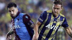 Trabzonspor – Fenerbahçe muhtemel 11'leri