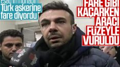 Türk askerine hakaret eden Suriyeli muhabir yaralandı