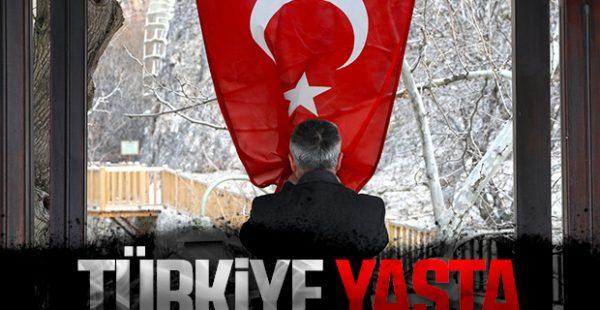 Türkiye şehitlerinin acısını yaşıyor