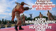 Türkiye'nin ilk kadın komando astsubayları eğitimlerini bitirdi