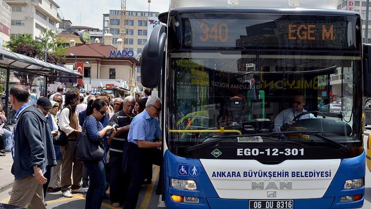 Ankara ve İzmir'de ücretsiz toplu taşıma askıya alındı