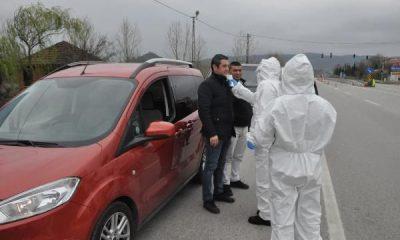 Bartın – Zonguldak yolunda koronavirüs uygulaması