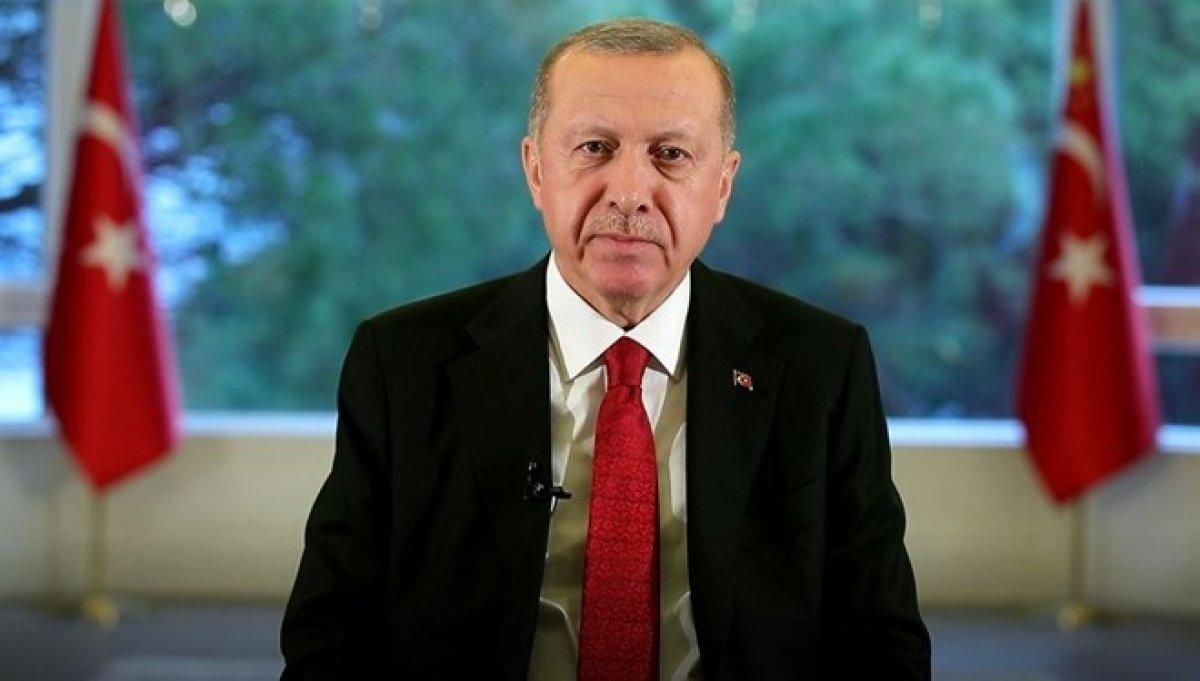 Cumhurbaşkanı Erdoğan evde kalın çağrısı yaptı