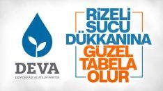 DEVA Partisi'nin alay konusu olan logosu