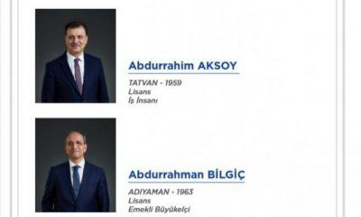 DEVA Partisi'nin kurucular listesi