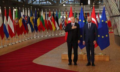 Erdoğan, AB kurum başkanlarıyla görüştü