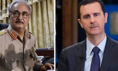 Esad'ın paralı askerleri, Hafter için Libya'da