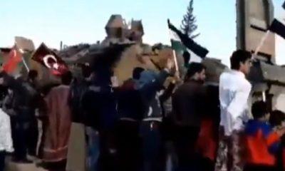 İdlib halkından Türk askerine coşkulu karşılama
