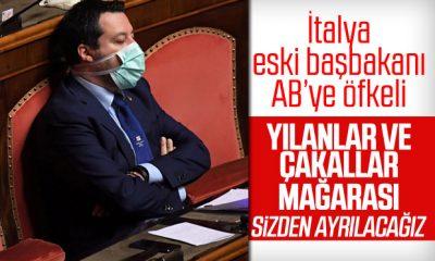İtalya eski başbakanından AB'ye: Yılanlar ve çakallar