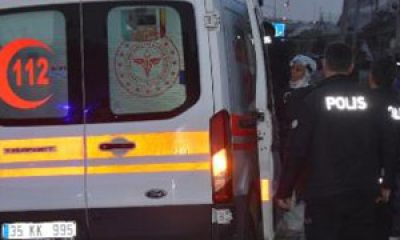 İzmir'de ambulans hırsızı kovalamaca sonucu yakalandı
