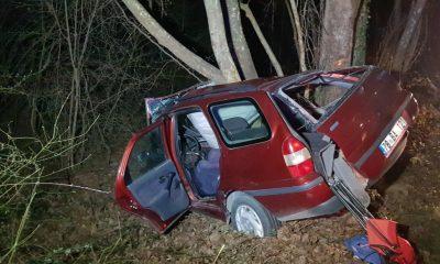 Karabük'te otomobil ağaca çarptı: 1 ölü