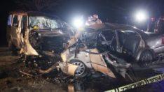 Konya'da kaza: 4 kişi hayatını kaybetti