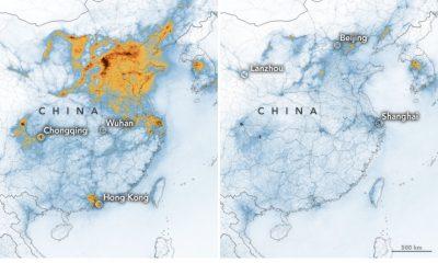 Koronavirüs nedeniyle Çin'deki hava kirliliği azaldı