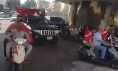 Lübnanlılardan Bahar Kalkanı'na mehterli destek