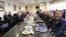 MSB:Türk ve Rus heyetlerinin bugünkü görüşmesi tamamlandı