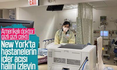 New York'taki hastanelerin korona tablosu