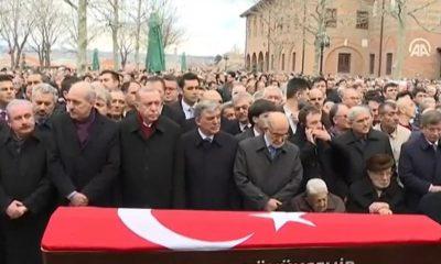 Şevket Kazan için cenaze töreni düzenlendi