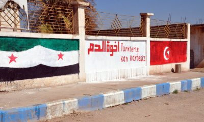 Suriye'de İdlib şehitleri için miting düzendi