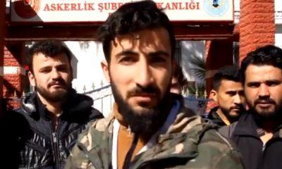 Suriyelilerden askerlik başvurusu