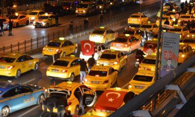 Taksicilerden İdlib'e destek konvoyu