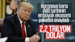 Trump, 2,2 trilyon dolarlık dev teşvik paketini onayladı