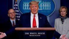 Trump korona Beyaz Saray'a sıçramaz dedi