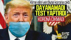 Trump'ın koronavirüs test sonucu negatif çıktı