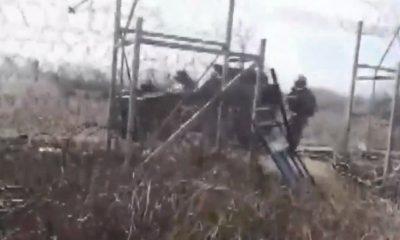 Yunan askeri Halk TV kameramanına plastik mermi sıktı