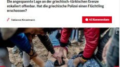 Yunan sınırındaki mülteciler Avrupa'yı strese soktu