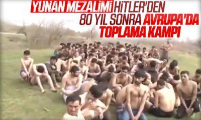 Yunanistan mültecilere insanlık yaptığına inanıyor