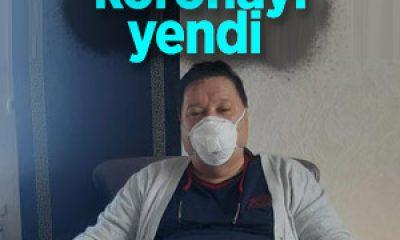 55 yaşındaki KOAH hastası, koronavirüsü yendi
