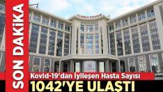 Kovid-19'dan iyileşen hasta sayısı 1042'ye ulaştı
