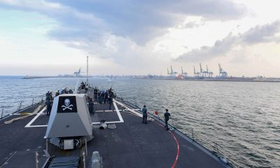 ABD'de bir savaş gemisinde daha koronavirüs vakaları