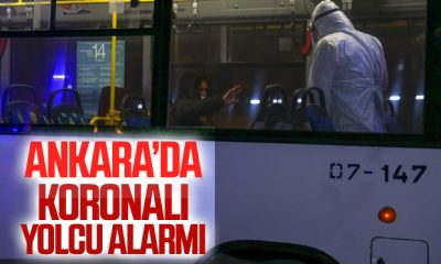 Ankara'da EGO otobüsünde 'koronavirüs' alarmı